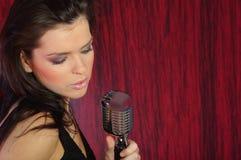 этап певицы Стоковая Фотография RF