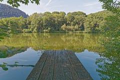 Этап посадки реки Стоковые Изображения
