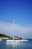 Этап посадки в красивом Адриатическом море Стоковые Изображения