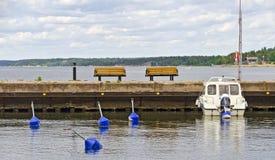 Этап посадки для прогулочных суден Стоковые Фото