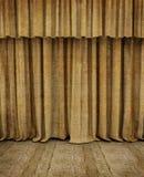 Этап старого театра пустой Стоковые Изображения RF