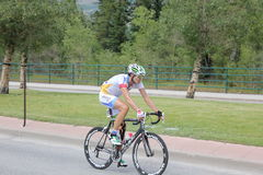 этап США 5 велосипедистов возможности задействуя профессиональный Стоковое Изображение RF