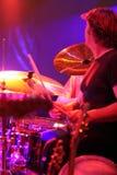 этап съемки барабанщика Стоковые Изображения