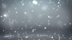 Этап с освещением пятна, пустая сцена для шоу, церемония вручения премии или реклама на темном - серая предпосылка Закрепленное п иллюстрация штока