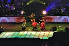 этап танцоров Стоковое фото RF
