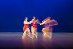 этап танцы Стоковая Фотография