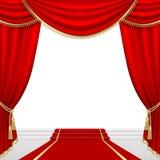 Этап театра. Сетка. бесплатная иллюстрация