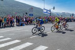 Этап 2 Giro 2018 d Италии стоковые изображения rf