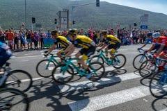 Этап 2 Giro 2018 d Италии стоковая фотография