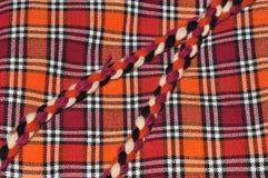 Этап handmade ковров Стоковая Фотография