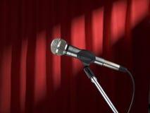 этап mic Стоковые Фотографии RF