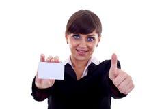 Эта карточка одобрена! Стоковые Изображения RF
