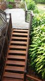 Эта лестница настолько красивая стоковое изображение