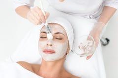 Эта маска здорова для вашей кожи стоковые изображения