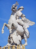 Эта скульптура расположена в саде Тюильри Стоковое Изображение RF
