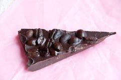 Расшива шоколада кофейного зерна Стоковое фото RF