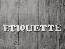 Этикет, мотивационные вдохновляющие цитаты дела стоковое фото