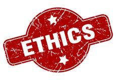 этики штемпелюют иллюстрация вектора