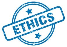 этики штемпелюют бесплатная иллюстрация