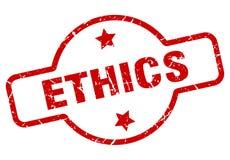 этики штемпелюют иллюстрация штока
