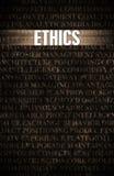 этики Стоковые Изображения RF
