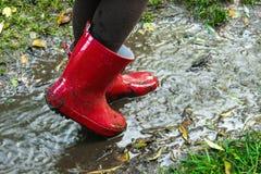 Эти ботинки сделаны для играть Стоковая Фотография RF