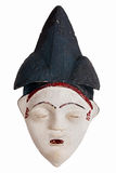 Этническая африканская маска глины Стоковое фото RF
