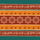 этническая геометрическая картина Стоковая Фотография