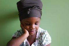 этническая девушка Стоковое Изображение