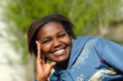 этническая женщина стоковое изображение rf