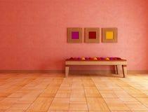 этническая живущая комната Стоковые Фото