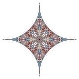 Этническая звезда Стоковые Фото