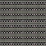 Этническая картина акварели Предпосылка моды ацтекская геометрическая Картина руки вычерченная monochrome Современные абстрактные иллюстрация штока