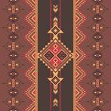 этническая картина безшовная Племенная печать Смогите быть использовано как ковры стены и пола, покрывала, скатерти, ковры, как э иллюстрация штока