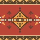 этническая картина безшовная Племенная печать Смогите быть использовано как ковры стены и пола, покрывала, скатерти, ковры, как э бесплатная иллюстрация