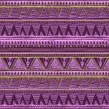 этническая картина безшовная Племенная печать boho искусства, абстрактный орнамент Текстура предпосылки, vect украшения этническо бесплатная иллюстрация