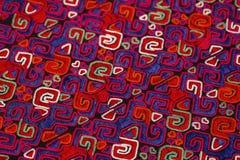 Этническая картина вышивки Стоковое Изображение