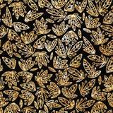 Этническая картина в стиле zentangle с абстрактным орнаментом для ткани, ткани моды, упаковочной бумаги Стоковая Фотография