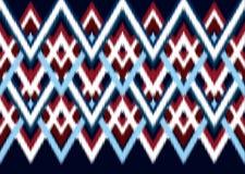 этническая картина Геометрический дизайн картины для предпосылки или обоев Стоковое Фото