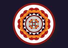 этническая картина Геометрический дизайн картины для предпосылки или обоев Стоковые Фотографии RF