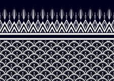 этническая картина Геометрический дизайн картины для предпосылки или обоев Стоковое Изображение RF
