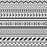 Этническая картина орнамента Стоковая Фотография RF