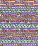 Этническая картина треугольника Стоковые Фотографии RF