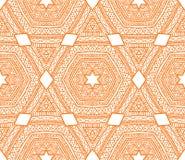 Этническая картина треугольника Стоковое Фото