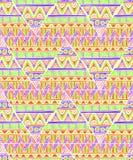 Этническая картина треугольника Стоковое Изображение RF
