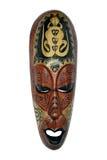 этническая маска ящерицы Индонесии Стоковая Фотография