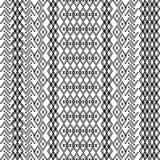Этническая племенная картина с геометрическими орнаментами Стоковое Фото