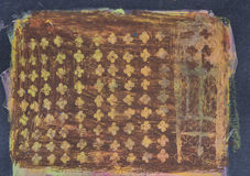 Этническая племенная орнаментальная картина Стоковые Фото