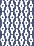 Этническая синяя безшовная картина Стоковое Изображение RF