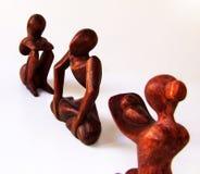 этническая скульптура Стоковая Фотография RF